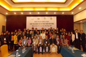 Hội thảo Sinh thái nhân văn và phát triển bền vững: Một số vấn đề từ lý luận đến thực tiễn