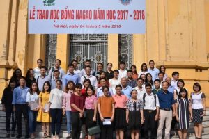 Lễ trao học bổng Nagao năm học 2017-2018