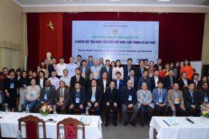 """Viện Tài nguyên và Môi trường tổ chức Hội thảo khoa học quốc tế  """"Ô nhiễm rác thải nhựa trên biển Việt Nam: Thực trạng và giải pháp"""" tại Hà Nội"""