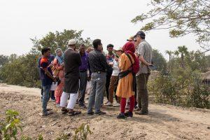 Một số hoạt động thực địa tại Bangladesh của Hợp phần 4
